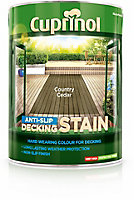 Cuprinol Country cedar Matt Decking Wood stain, 5L