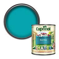 Cuprinol Garden shades Beach blue Matt Wood paint, 1L