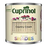 Cuprinol Garden shades Country Cream Matt Wood paint, 125ml Tester pot