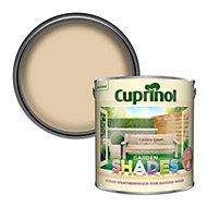 Cuprinol Garden shades Country cream Matt Wood paint, 2.5L