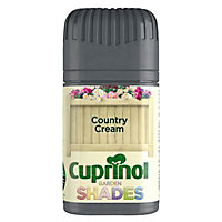 Cuprinol Garden shades Country cream Matt Wood paint, 50 Tester pot