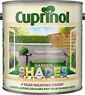 Cuprinol Garden shades Forest mushroom Matt Wood paint, 2.5L