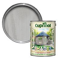 Cuprinol Garden shades Natural stone Matt Wood paint, 5L