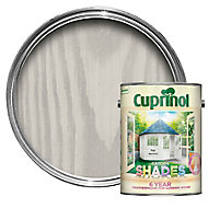 Cuprinol Garden shades Pale jasmine Matt Wood paint, 5L