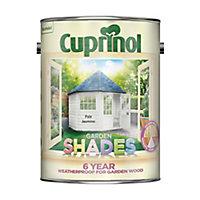 Cuprinol Garden shades Pale jasmine Matt Wood paint, 5L