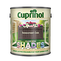 Cuprinol Garden shades Seasoned oak Matt Wood paint, 1L