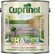 Cuprinol Garden shades Silver birch Matt Wood paint, 2.5L