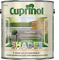 Cuprinol Garden shades Silver birch Matt Wood paint, 2.5L