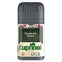 Cuprinol Garden shades Somerset green Matt Wood paint, Tester pot