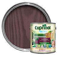 Cuprinol Garden shades Summer damson Matt Wood paint, 2.5L