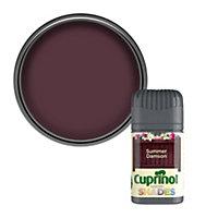 Cuprinol Garden shades Summer damson Matt Wood paint, Tester pot