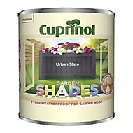 Cuprinol Garden shades Urban Slate Matt Wood paint, 1L