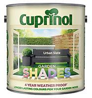 Cuprinol Garden shades Urban slate Matt Wood paint, 2.5L