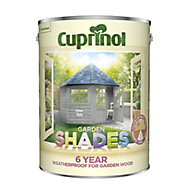 Cuprinol Garden shades Urban slate Matt Wood paint, 5L