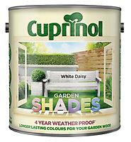 Cuprinol Garden shades White daisy Matt Wood paint, 2.5L