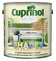 Cuprinol Garden shades White daisy Matt Wood paint, 2.5