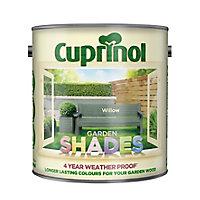 Cuprinol Garden shades Willow Matt Wood paint, 2.5L