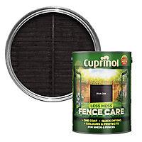 Cuprinol Less mess fence care Rich oak Matt Treatment 5L