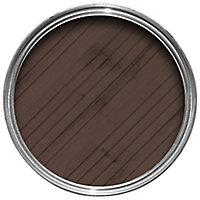 Cuprinol Less mess fence care Rustic brown Matt Wood paint, 5L