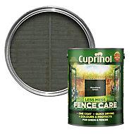 Cuprinol Less mess fence care Woodland green Matt Treatment 5L