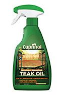 Cuprinol Naturally enhancing Clear Teak Wood oil, 500ml