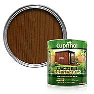 Cuprinol Ultimate Autumn brown Matt Wood preserver, 4L