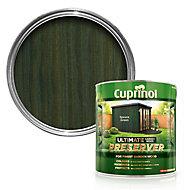 Cuprinol Ultimate Spruce green Matt Wood preserver 4