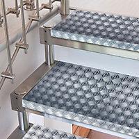 D-C-Fix Criss cross Checkerboard Silver effect Self-adhesive film (L)1.5m (W)450mm