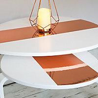 D-C-Fix Gloss Rose gold effect Self-adhesive film (L)1.5m (W)450mm