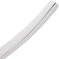 D-Line White 6mm Cable wrap, (L)1.1m