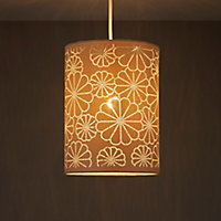 Daisy Beige Laser cut Light shade (D)190mm
