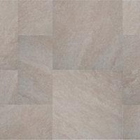 Dakota Beige Matt Stone effect Porcelain Outdoor Floor Tile, Pack of 4, (L)600mm (W)300mm