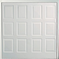 Dakota Made to measure Framed White Retractable Garage door