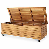 Denia 2 seater Bench & storage box set