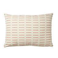 Denia Dash Mango & off white Cushion
