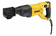 DeWalt 1100W 230V Corded Reciprocating saw DWE305PK-GB