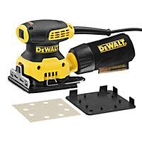 DeWalt 230W 240V Corded 1/4 sheet sander DWE6411-GB