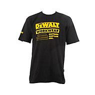 DeWalt Brookfield Black T-shirt Large