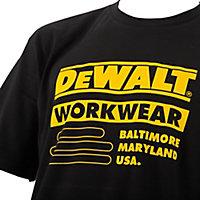 DeWalt Brookfield Black T-shirt X Large