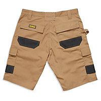 "DeWalt Heritage Black & tan Shorts W32"""