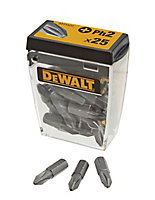 DeWalt PH2 Screwdriver bits 25mm, Pack of 25