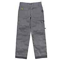 """DeWalt Pro Tradesman Black & grey Trousers, W32"""" L31"""""""