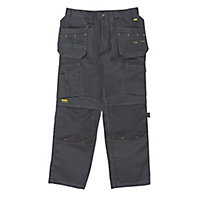 "DeWalt Pro Tradesman Black Men's Trousers, W30"" L29"""
