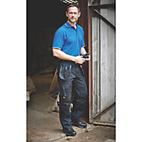 "DeWalt Pro Tradesman Black Men's Trousers, W36"" L29"""