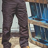 "DeWalt Ridgeley Black Trousers, W32"" L32"""