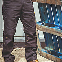 "DeWalt Ridgeley Black Trousers, W34"" L32"""