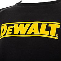 DeWalt Rosewell Black Sweatshirt Large