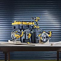 DeWalt XR 18V 4Ah Li-ion Cordless 4 piece Power tool kit DCK457M3T-GB