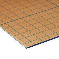 Diall 1mm Extruded polystyrene (XPS) foam Luxury vinyl tiles Underlay panels