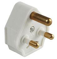 Diall 5A White Plug